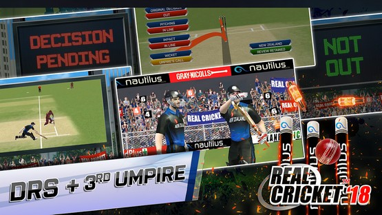 Real Cricket 18 MOD APK Free Download