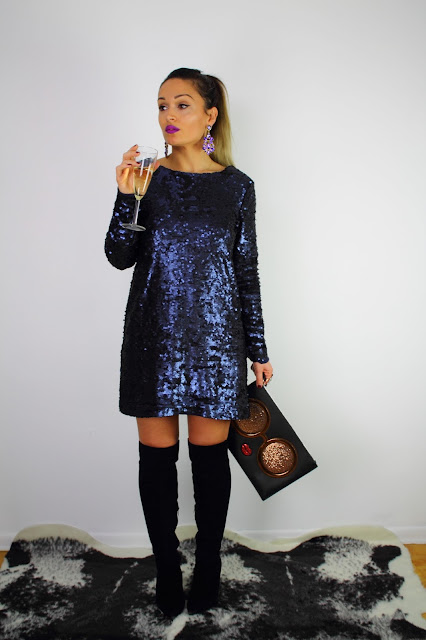Sequence dress, sequence new years eve dress, what to wear for new  years eve, long sleeves mini dress, minkpink dress, toronto blogger, best fashion blogger, fashioncanadians, serbian blogger, winter style, sequence minkpink dress