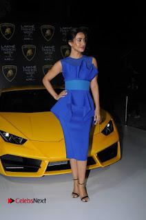 Actress Neha Sharma Latest Stills in Blue Dress at Lakme Fashion Week Summer Resort 2017  0007.jpg