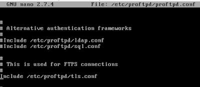 Cara Installasi dan Konfigurasi FTPS (Secure) Debian 9 Dengan Proftpd 26