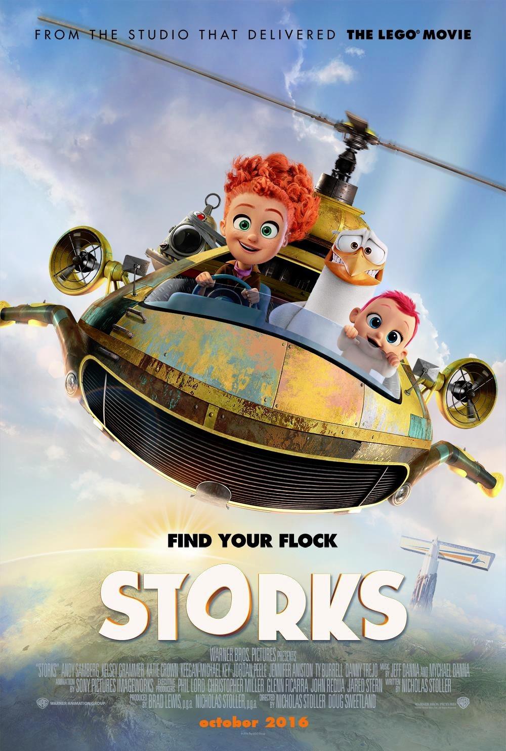 Nonton Film Storks (2016)