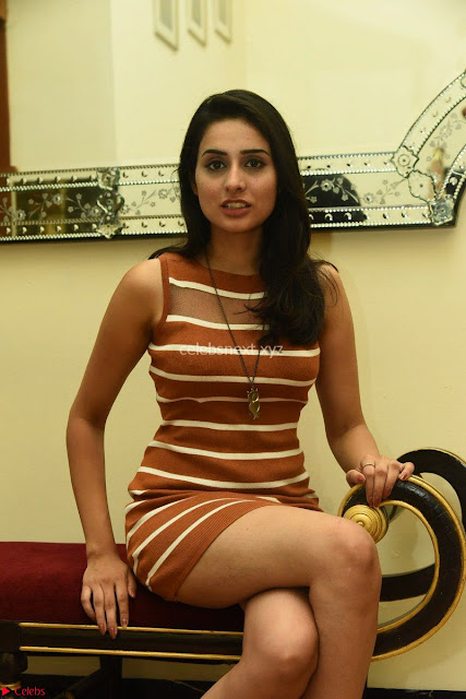 Actress Nikhita in Spicy Small Sleeveless Dress ~  Exclusive 001.JPG