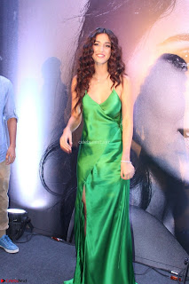 Disha Patani in Beautiful Green Gown at her App Launch 008.JPG
