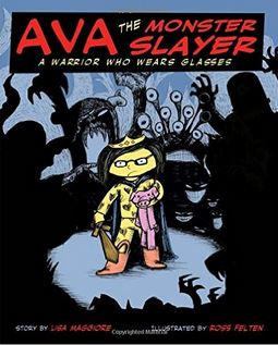 AVA THE MONSTER SLAYER cover
