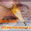 Contoh Soal UTS/UAS PKN Kelas 3 Semester 1 2017