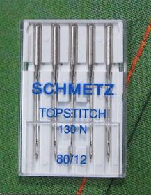 130met + + Schmetz-plano pistón aguja sistema metalizado nm 90..