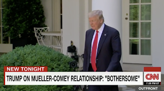 Trump: 'Bothersome' that Mueller is 'very good friends' with Comey