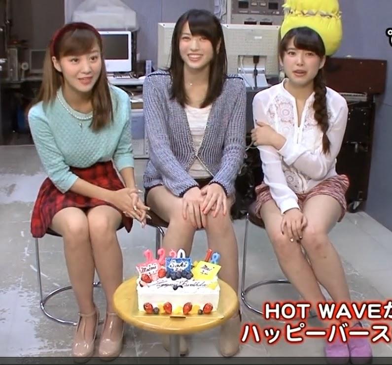 お誕生日を祝う萩原舞