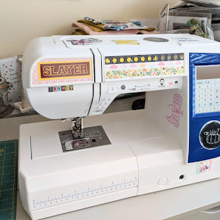 Elna 680 sewing machine, Charm About You