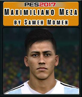 PES 2017 Faces Maximiliano Meza by Sameh Momen