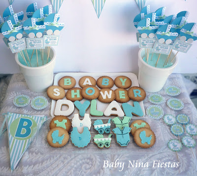 kit baby shower niño