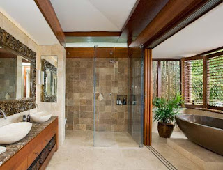 Contoh kamar mandi yang bersih dan nyaman
