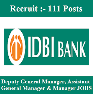 IDBI Bank Limited, IDBI, IDBI Bank, Bank, Graduation, Manager, General Manager, Deputy General Manager, freejobalert, Sarkari Naukri, Latest Jobs, idbi bank logo