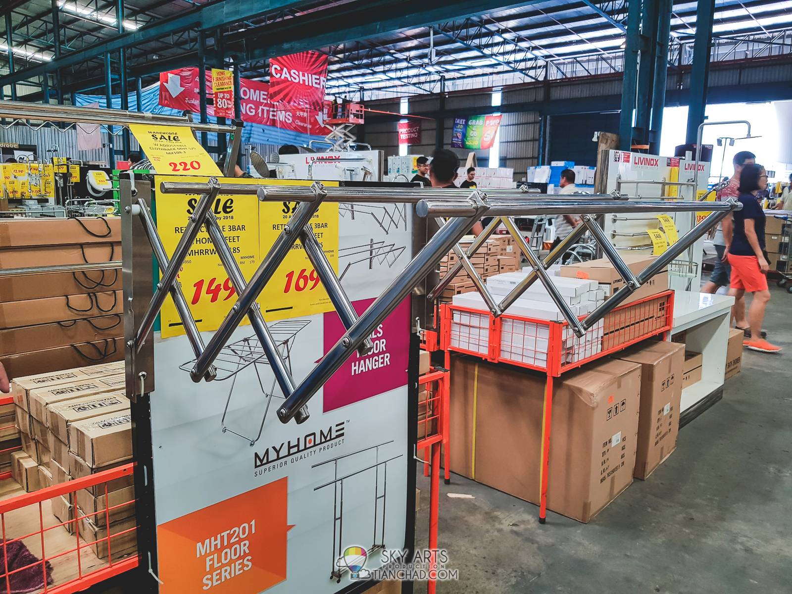 HOMEPRO WAREHOUSE SALE 2018 @ PUCHONG