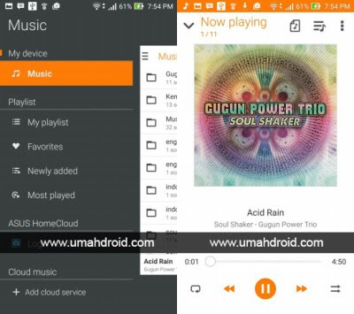 Download Aplikasi ASUS Music v2.0.0.23 Support Ganti Theme