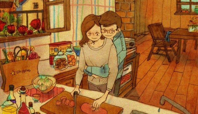 adorable illustrations love relationships