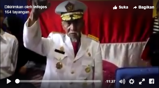 Seorang kakek mengaku sebagai Jenderal Sudirman, dan masih hidup sampai hari ini