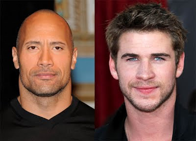 Empire State Filme estrelando Dwayne Johnson e Liam Hemsworth