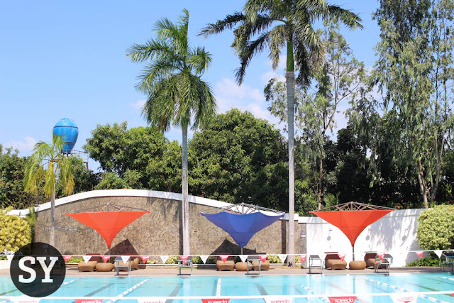 Pool area of The Village Sports Club