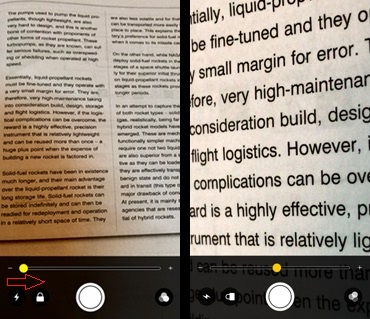 If you are on iOS 10 or later, you can use your iPhone as a Magnifying Glass with magnifier by triple tapping your Home Button.With the iPhone's magnifier, you can magnify an image to see its clarity right from your iPhone