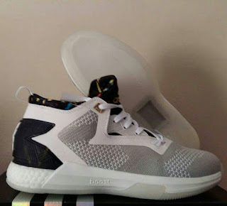 Sepatu Basket Adidas D Lillard 2 Grey premium < sepatu baskeet murah
