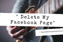 How To Delete A Facebook Page | Delete My Facebook Page