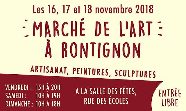 Marché d'art Rontignon 2018