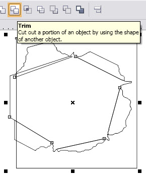 Creating the effect of ripped paper - Corel Draw Effect Tutorial