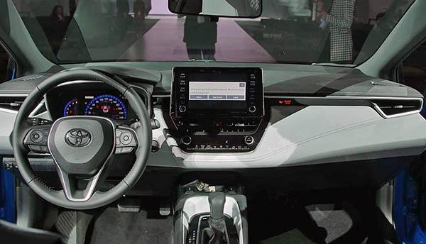 Burlappcar 2019 Toyota Corolla Interior