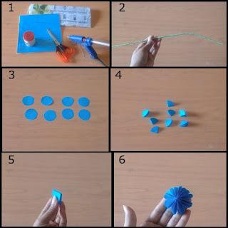 Tutorial Cara Membuat Bunga Indah dari Kertas Origami 1