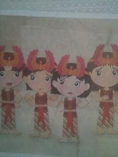 dongeng empat penari