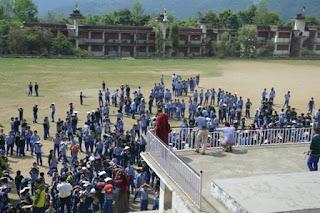 tcv chauntra SCHOOL SHAKE OUT PREPAREDNESS DRILL