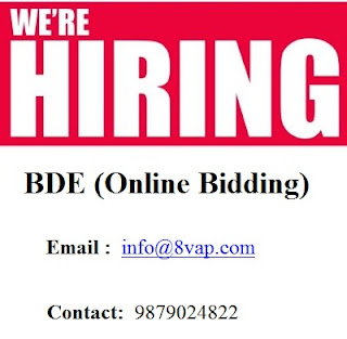 BDE (Online Bidding) in Ahmedabad
