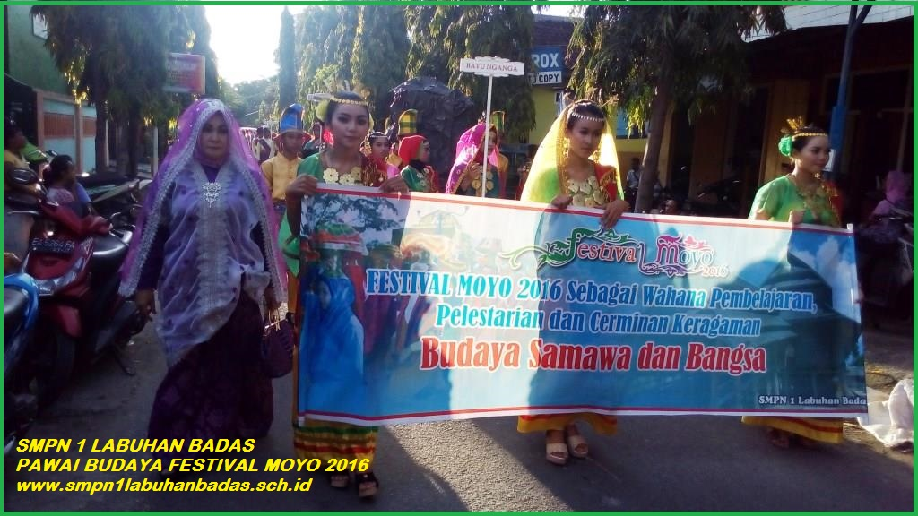 Pawai Budaya Fest. Moyo 2016