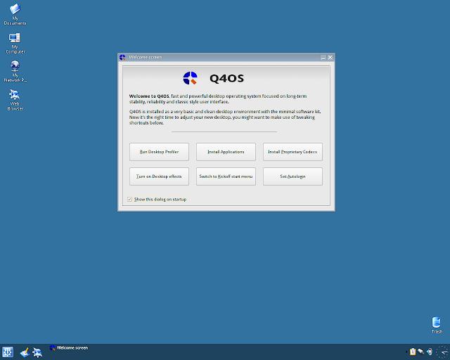 Conheça o Q4OS GNU/Linux, uma distribuição leve!