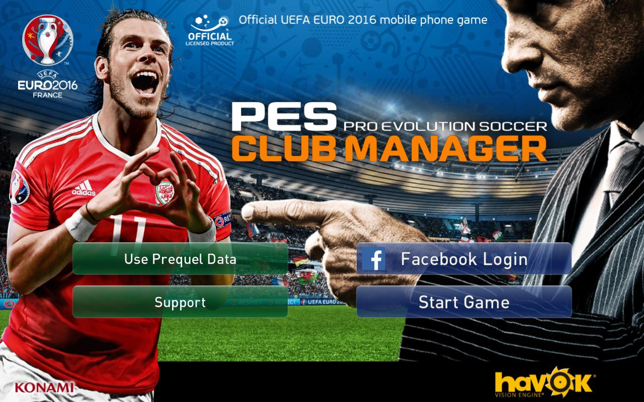 PES Club Manager APK v1.3.4+Data for Android