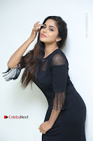 Telugu Actress Karunya Chowdary Latest Stills in Black Short Dress at Edo Prema Lokam Audio Launch .COM 0062.JPG