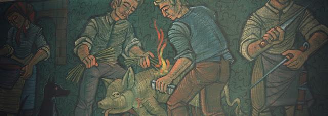 macellazione del maiale