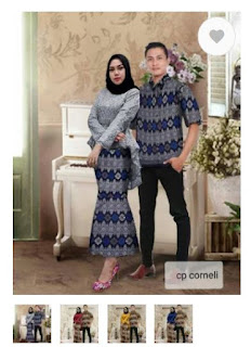 Couple Hijab Wanita/Baju Couple Pesta