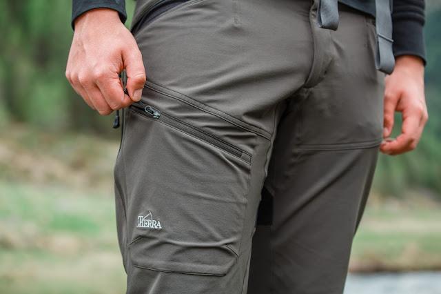 Tierra Lite Track Pant M Wanderhose Trekkinghose Outdoor Gadget 05