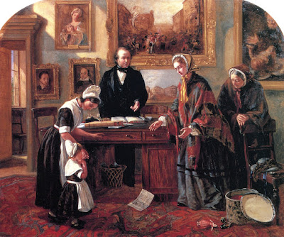 The Foundling Restored to its Mother Emma Brownlow King - 1858