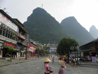 yangshuo mountains main street