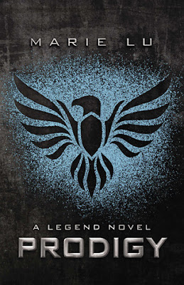 Prodigy, the 2nd Legend Series by Marie Lu is a action packed dystopian novel with adventure, romance, and a great storyline.  It gets 4.5 out of 5 stars in my book review. Not predictable, and even with the slow start you'll soon not be able to put it down.  Alohamora Open a Book http://alohamoraopenabook.blogspot.com/ book, read, YA, teen, young adult, fast read, great story.