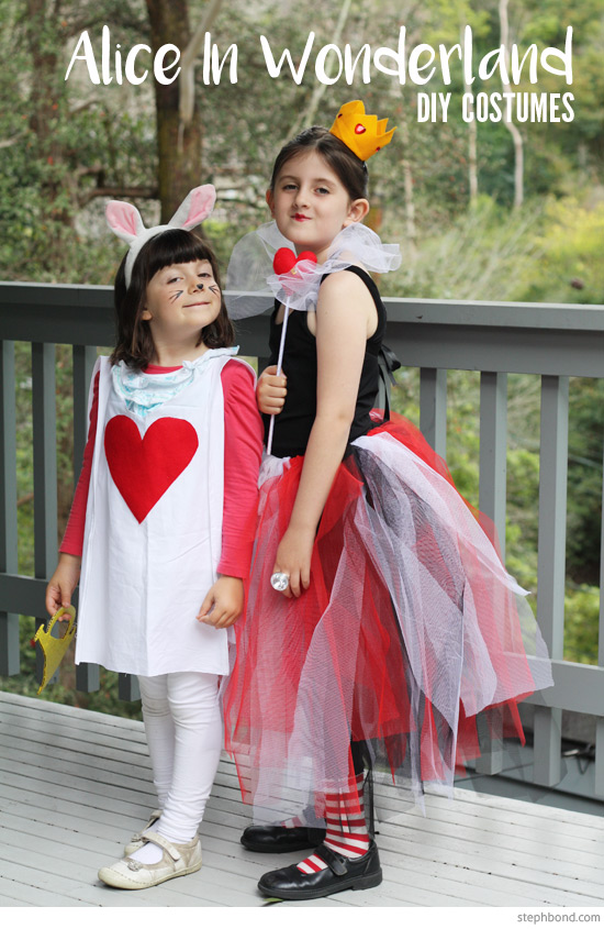 Bondville Cheap And Easy Diy Alice In Wonderland Costumes For Kids