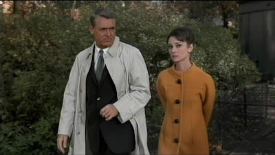 movie - Charade - Peter (Cary Grant) and Regina Lampert (Audrey Hepburn)