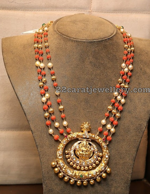 Coral Beads Set From Hiya Jewellers