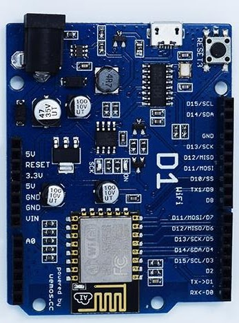 Wemos D1 Garage Door Esp8266 Client Web Envoyer Des