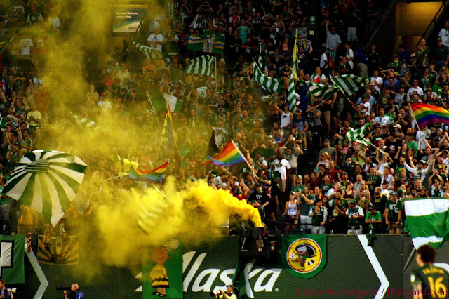 Timbers Army fumigates itself again