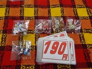 シルバニア人形単品と小物単品190円