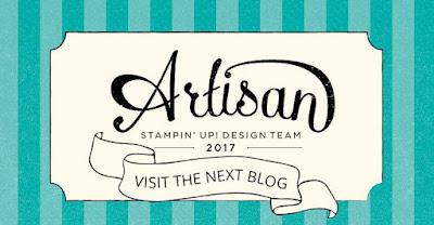 Artisan for Stampin Up! Bloghop